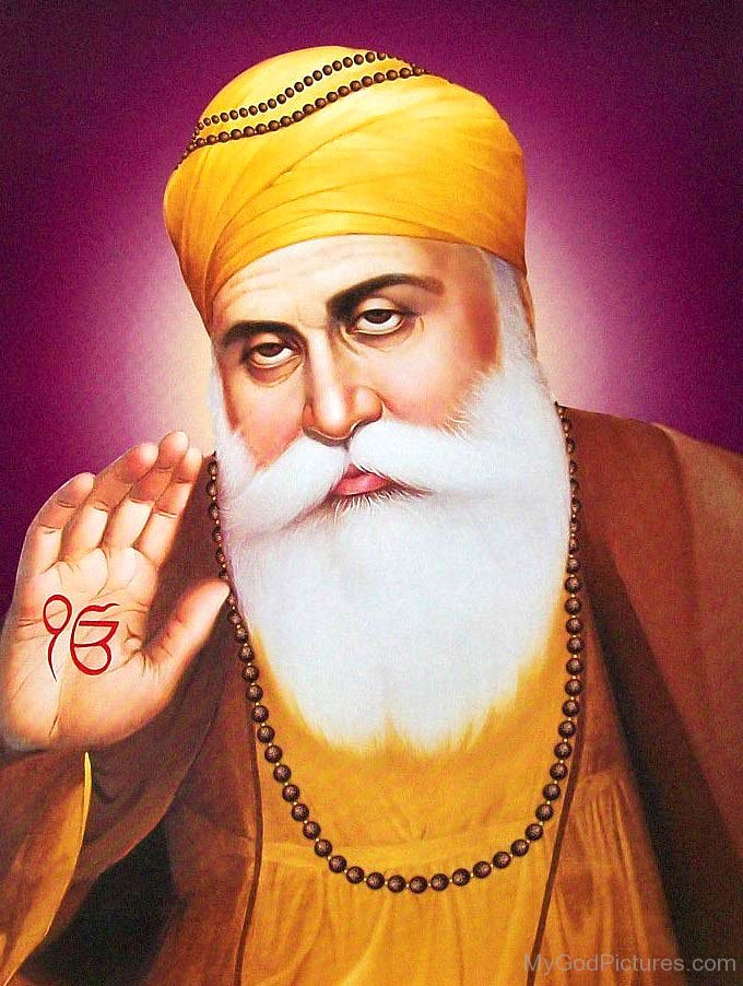 Image Of Guru Nanak Dev Ji Bless People - God Pictures