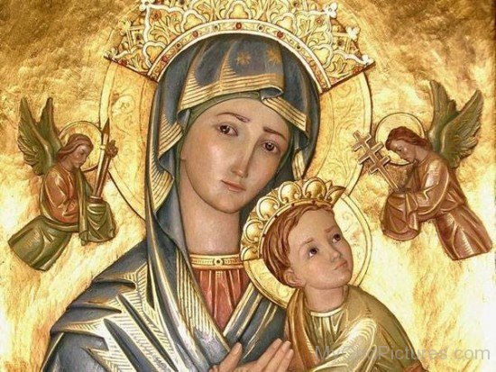 Mother Marry With Jesus Christ