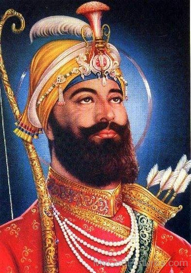Image result for guru gobind singh painting