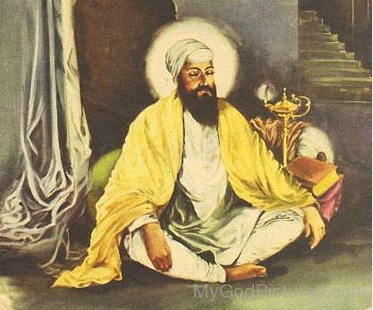 Picture Of Guru Tegh Bahadur G