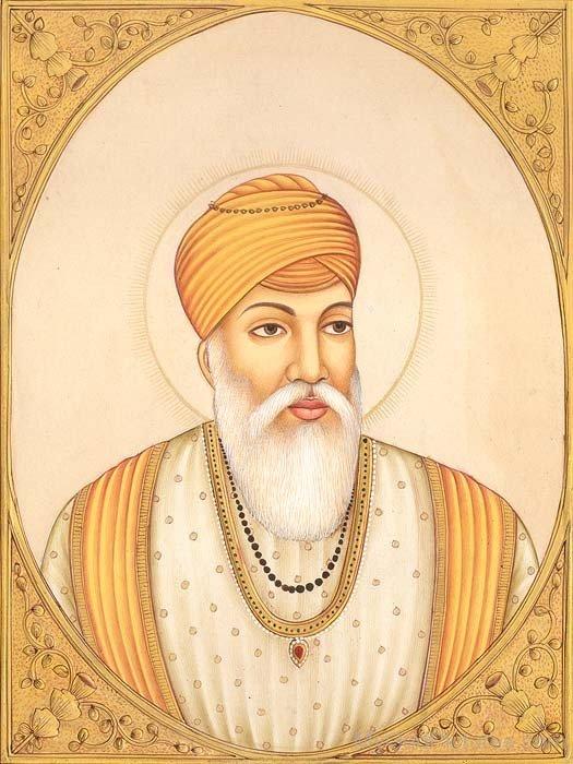 Picture Of Guru Amar Das Ji