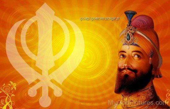 Picture Of Guru Gobind Singh Ji