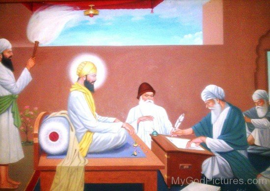 Picture Of Shri Guru Angad Dev Ji