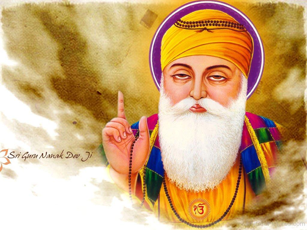 Picture Of Shri Guru Nanak Dev G - Picture-Of-Shri-Guru-Nanak-Dev-G