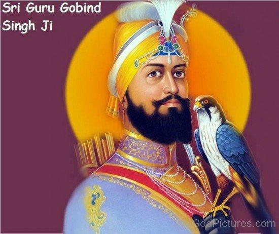Side Pose Of Guru Gobind Singh G