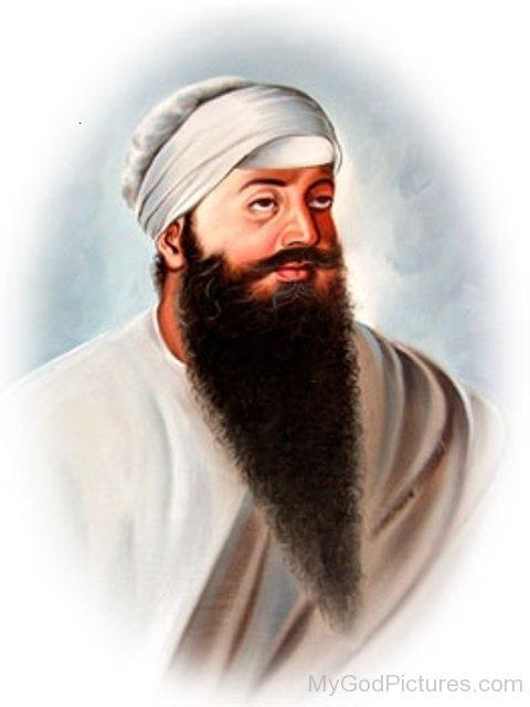 Side Pose Of guru Ram Das Ji