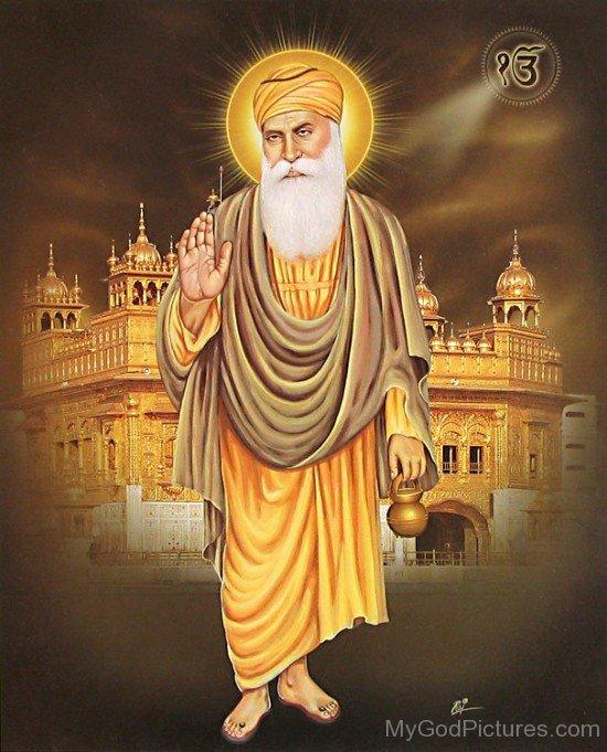Standing Pose Of Guru Nanak Dev Ji
