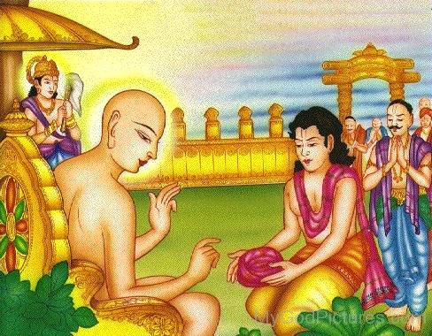 Beautiful Image Of Lord Mahavir Ji