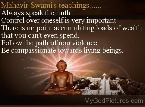 Mahavir Sawami Teaching