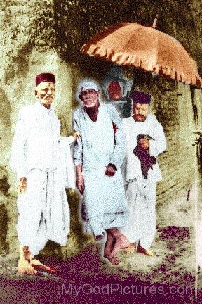Old Image Od Shirdi Sai Baba Ji