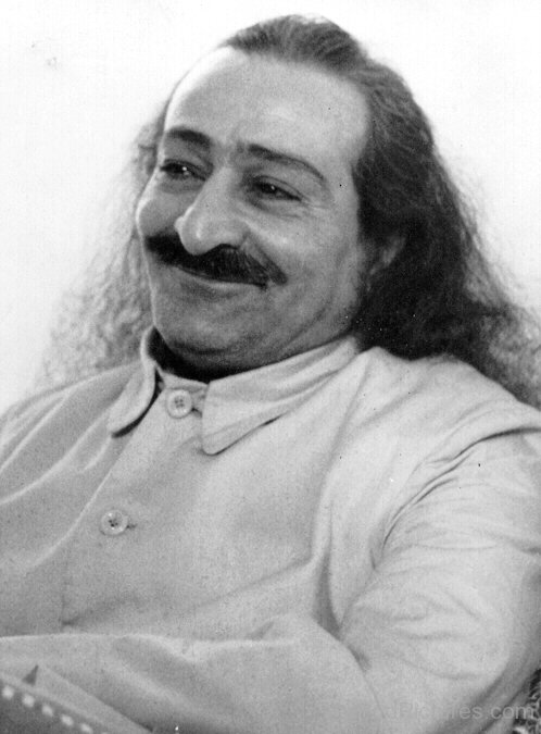 Smiling Face  Of Avatar Meher Baba Ji