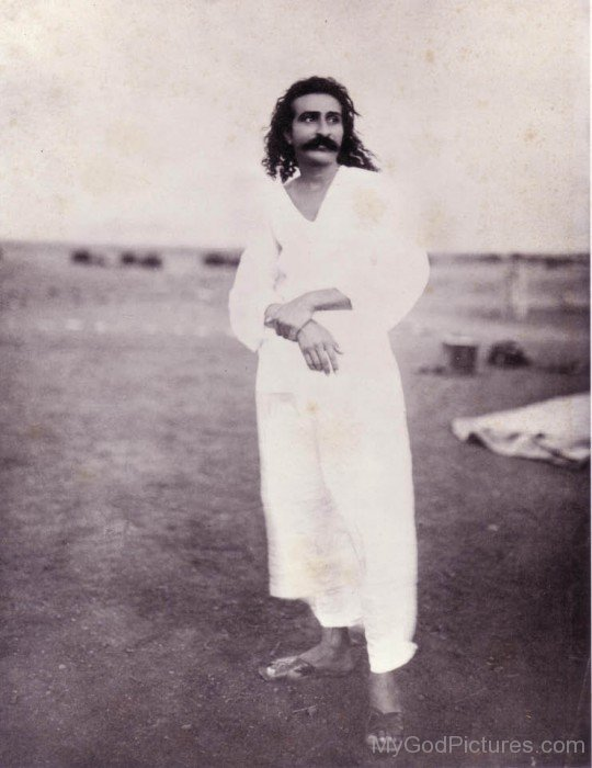 Standing Pose Of Avatar Meher Baba