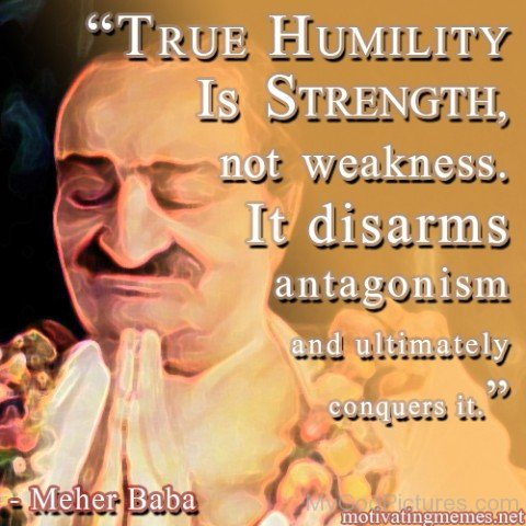 True Humility Is Strength