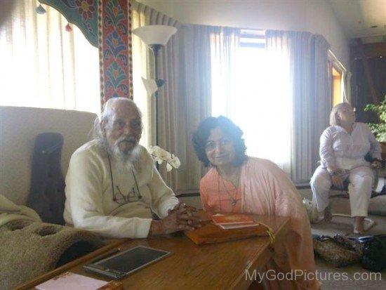 Baba Hari Dass At His Mount Modonna Centre