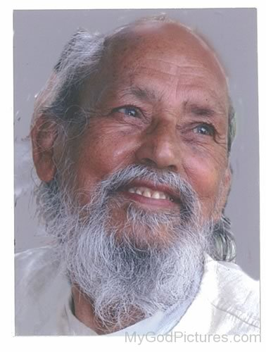 Baba Hari Dass Smiling