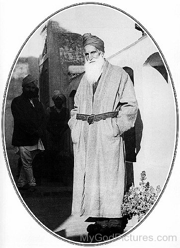 Baba Sawan Singh Ji Wearing Coat