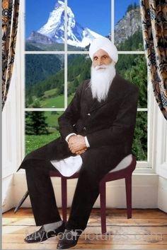 Beautiful Picture Of Baba Sawan Singh Ji