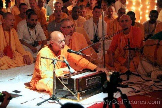 Bhakti Charu Swami At Maha Kirtan