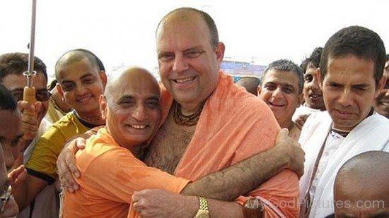 Bhakti Charu Swami Meets Jayapataka Swami
