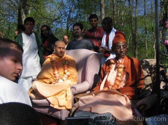 Bhakti Tirtha Swami And Radhanath Swami
