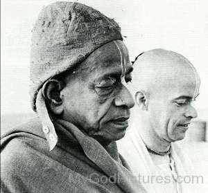 Bhaktivedanta Swami Prabhupada and Kirtanananda Swami