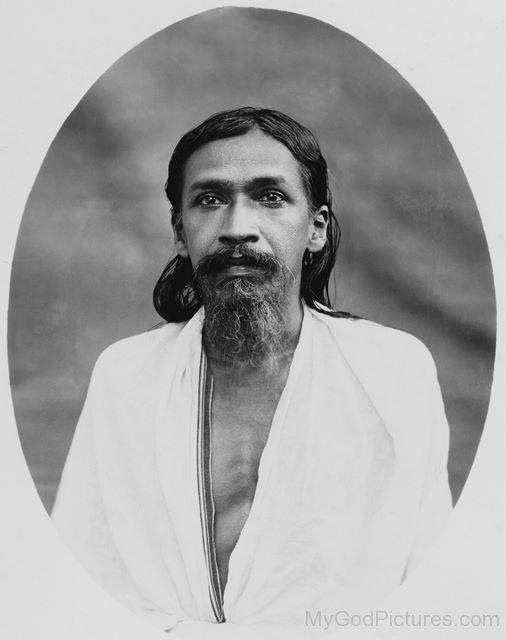 Divine Image Of Sri Aurobindo