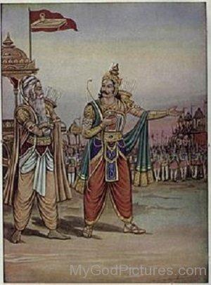 Dronacharya And Yudhishthira