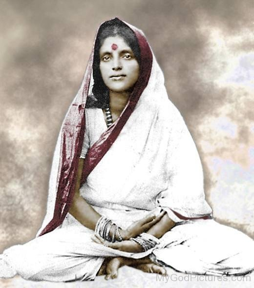 Image Of Anandamayi Maa