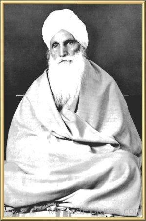 Picture Of Baba Sawan Singh Ji