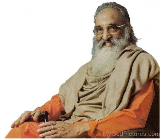Picture Of Chinmayananda Saraswati Swami