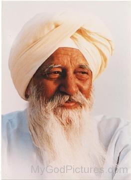 Picture Of Maharaj Charan Singh Ji