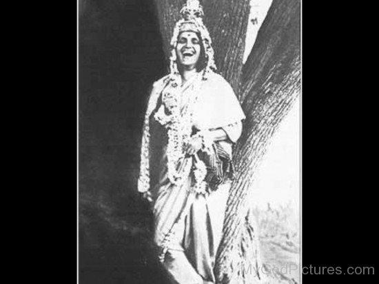 Rare Image Of Anandamayi Maa
