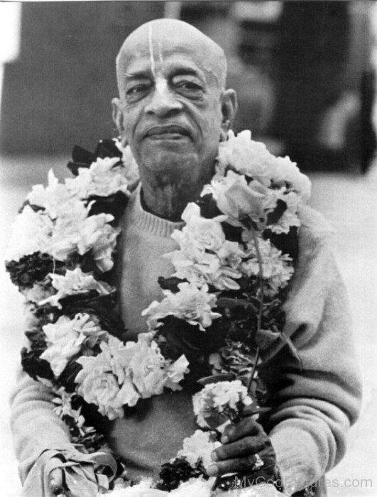 Rare Picture Of Abhay Charanaravinda Bhaktivedanta Swami Prabhupada