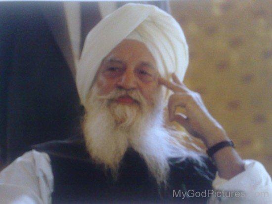 Rare Picture Of Maharaj Charan Singh Ji