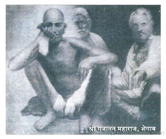 Shri Gajanan Maharaj With Devotee