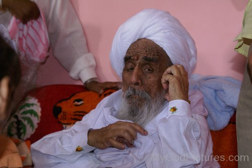 Side Image Of Sant Baba Ajit Singh Ji