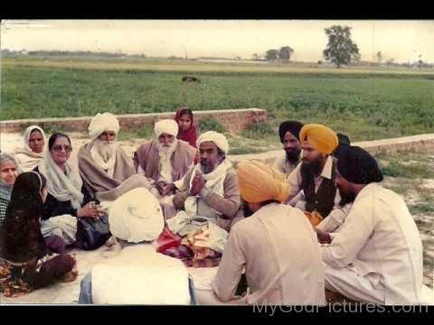 Sitting Image Of Baba Ajit Singh Ji