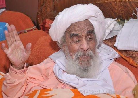 Smiling Image Of Sant Baba AJit Singh Ji