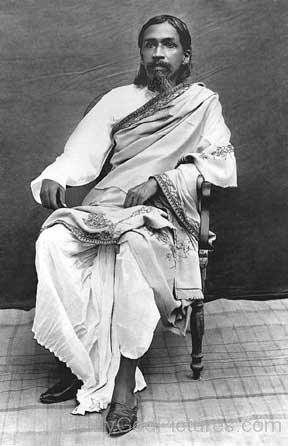 Sri Aurobindo Sitting On Chair