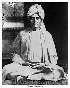 Swami Abhedananda Photo
