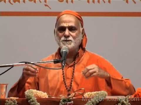 Swami Bhoomananda Tirtha Giving Speech
