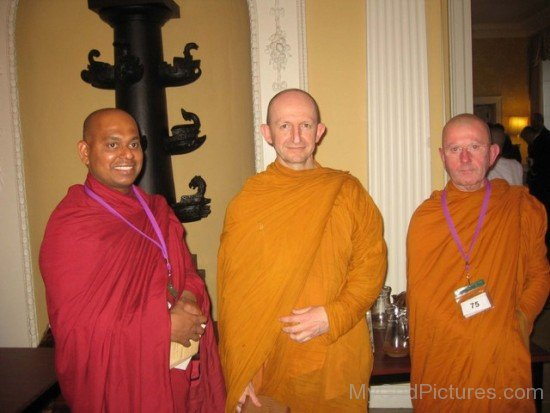 Ajahn Amaro With Akurala Samitha And Ajahn Khemadhammo