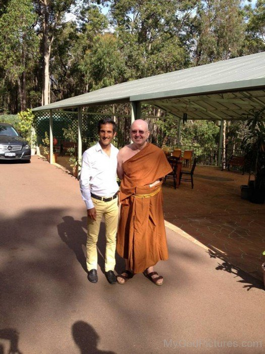 Ajahn Brahm With Jeffrey Slayter