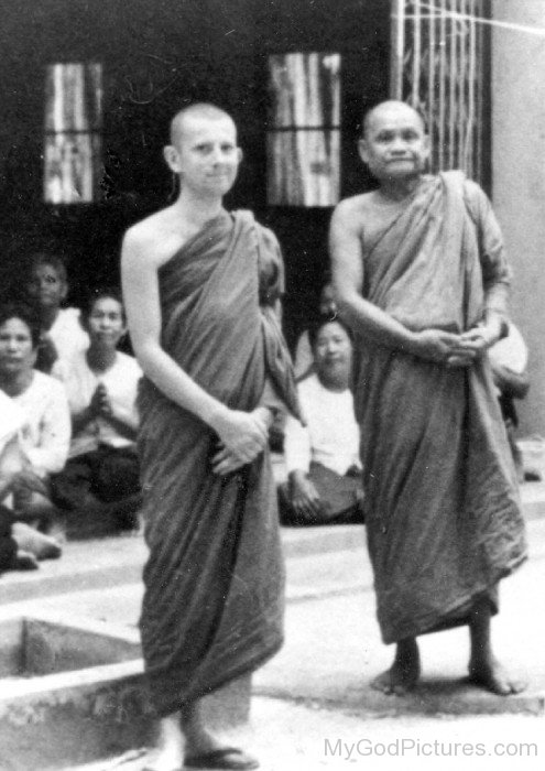 Ajahn Chah And Ajahn Amaro