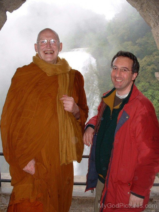 Ajahn Sumedho And Mario Thanavaro