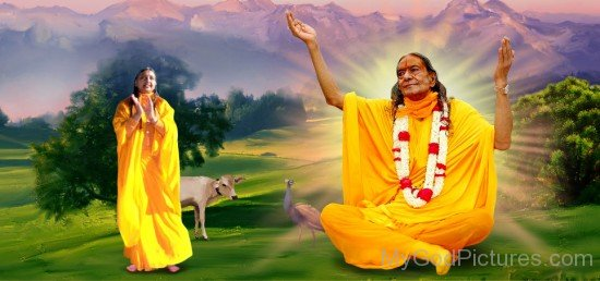 Amazing Picture Of Kripalu Maharaj Ji