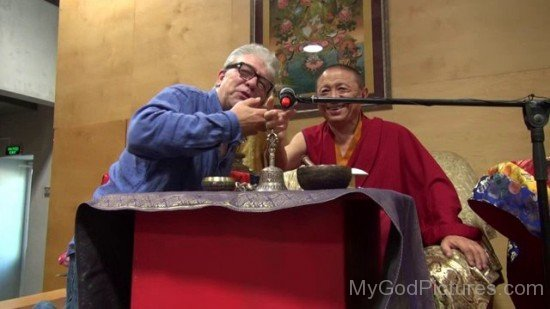 Andy Weber And Chokyi Nyima Rinpoche