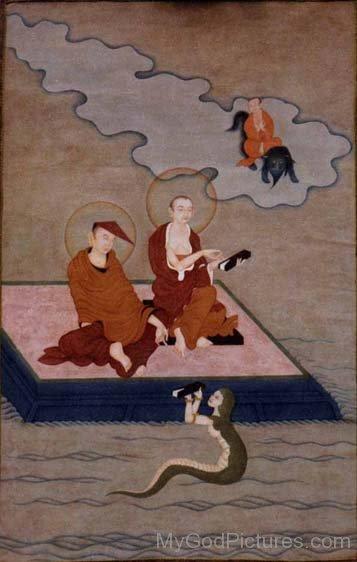 Aryadeva And Nagarjuna