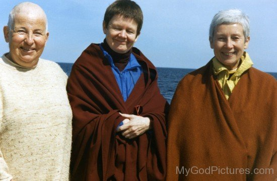 Ayya Khema With Ane Pema And Chodron