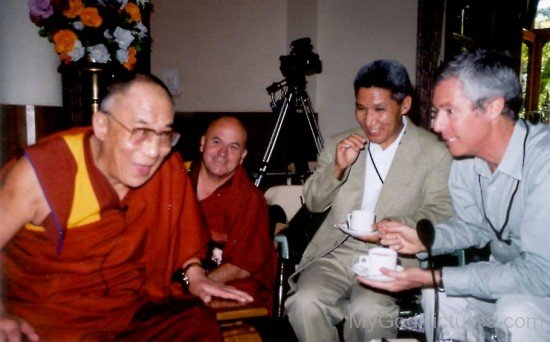 B.Alan Wallace Talking With Dalai Lama